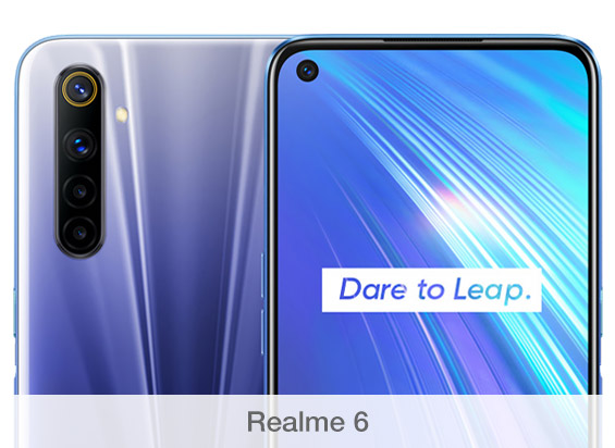 Comparativa de cámaras Realme 6