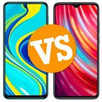 Xiaomi Redmi Note 9S vs Redmi Note 8 Pro