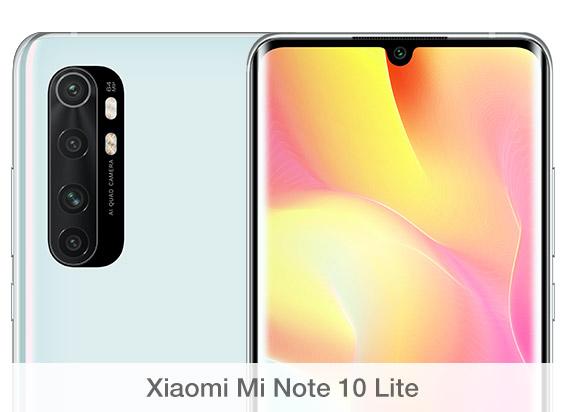 Comparativa de cámaras Xiaomi Mi Note 10 Lite