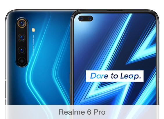Comparativa de cámaras Realme 6 Pro