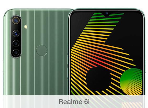 Comparativa de cámaras Realme 6i