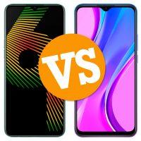 Realme 6i vs Xiaomi Redmi 9