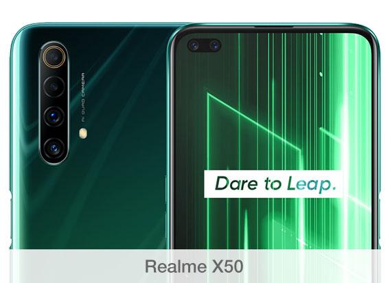 Comparativa de cámaras Realme X50