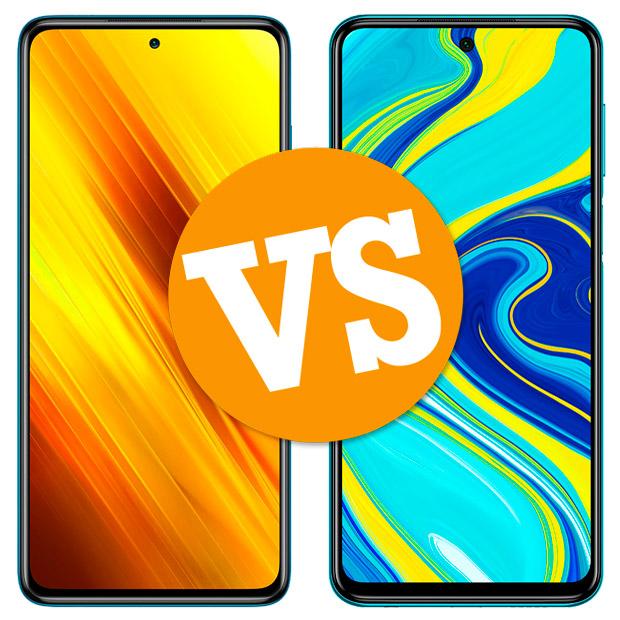 Comparativa Xiaomi POCO X3 vs Redmi Note 9 Pro