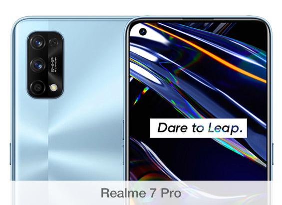 Comparativa de cámaras Realme 7 Pro