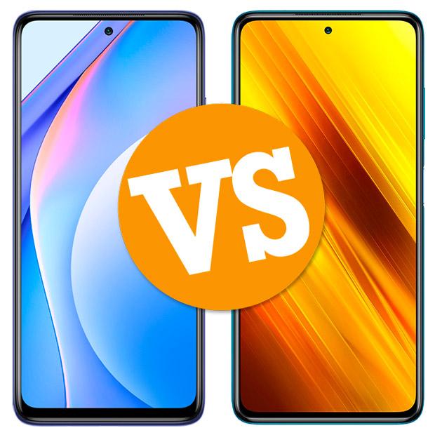 Comparativa Xiaomi Mi 10T Lite vs Poco X3 NFC