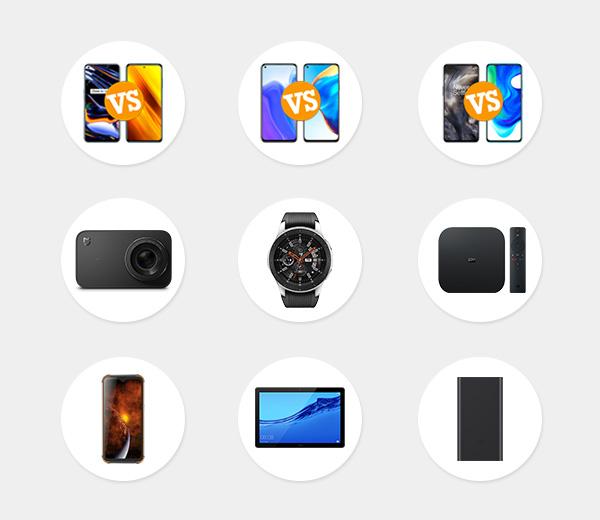 Comparativas de móviles chinos y electrónica