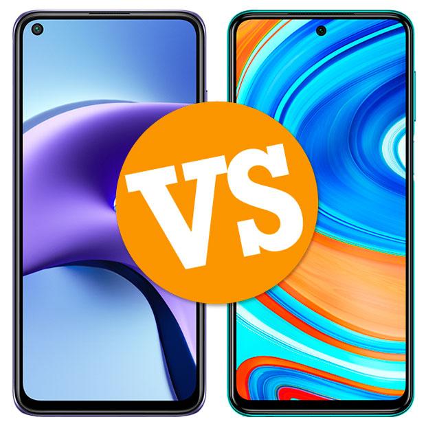 Comparativa Redmi Note 9T vs Redmi Note 9 Pro