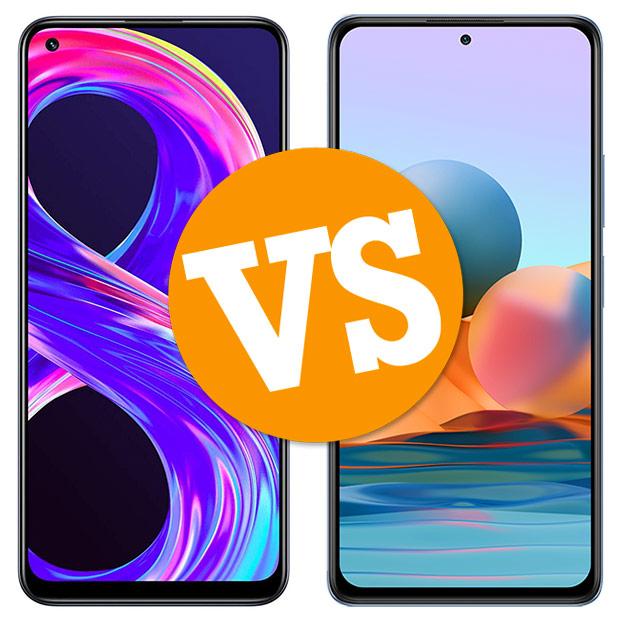 Comparativa Realme 8 Pro vs Redmi Note 10 Pro
