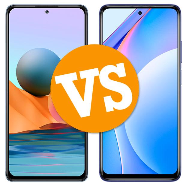 Comparativa Redmi Note 10 Pro vs Mi 10T Lite