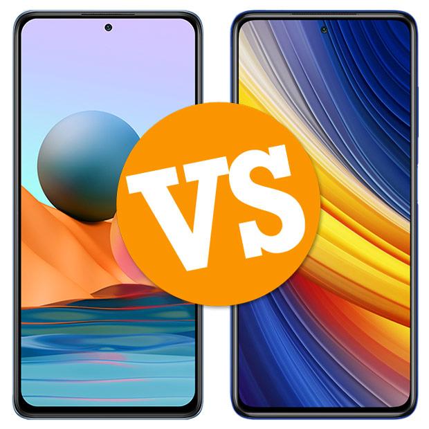 Comparativa Xiaomi Redmi Note 10 Pro vs Poco X3 Pro