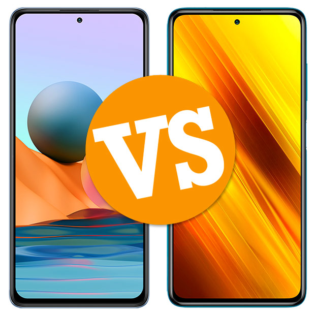 Comparativa Redmi Note 10 Pro vs POCO X3