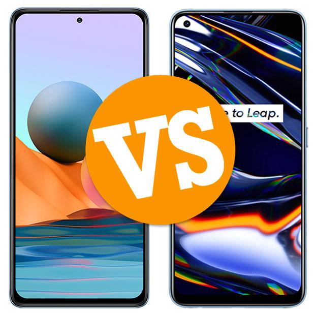 Comparativa Redmi Note 10 Pro vs Realme 7 Pro