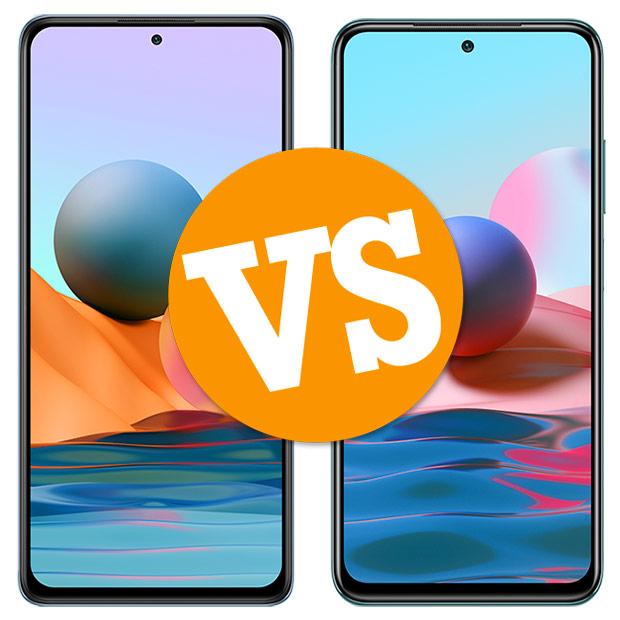 Comparativa Redmi Note 10 Pro vs Redimi Note 10