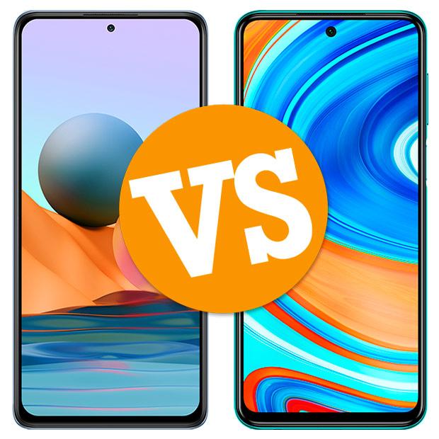 Comparativa Redmi Note 10 Pro vs Redimi Note 9 Pro