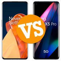 Comparativa OnePlus 9 Pro vs Oppo Find X3 Pro