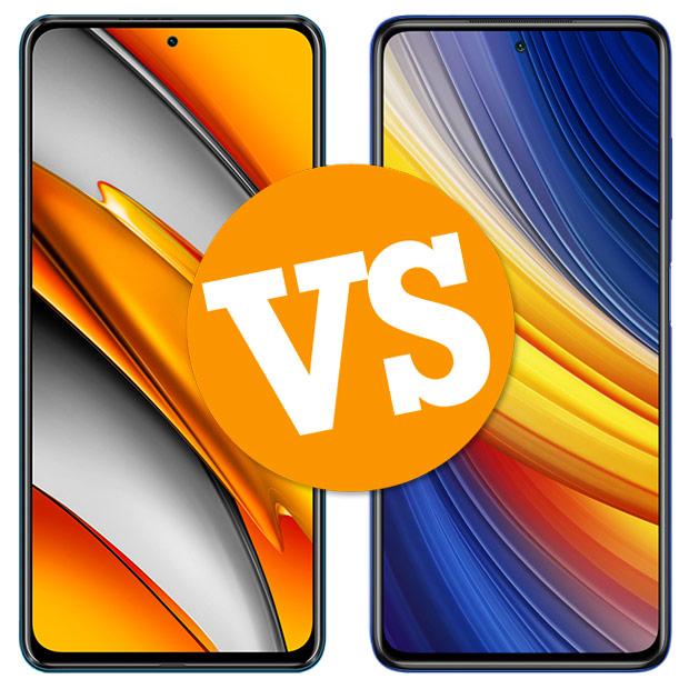Comparativa POCO F3 vs POCO X3 Pro