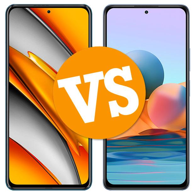 Comparativa POCO F3 vs Redmi Note 10 Pro