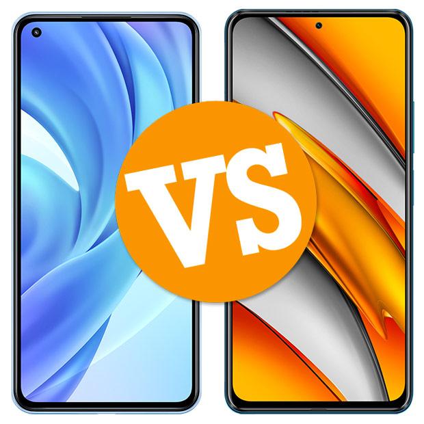 Comparativa Xiaomi Mi 11 Lite vs POCO F3