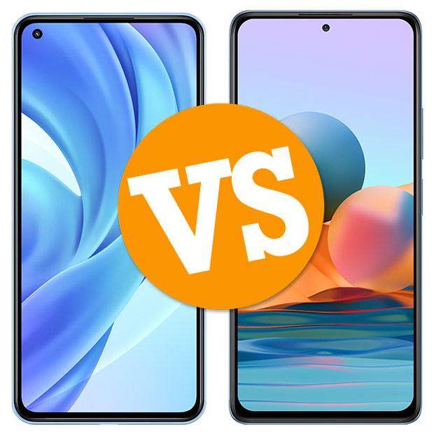 Comparativa Xiaomi Mi 11 Lite vs Redmi Note 10 Pro