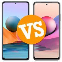 Comparativa Redmi Note 10 Pro vs Redimi Note 10S