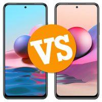 Comparativa Redmi Note 10 vs Redimi Note 10S