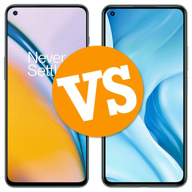 Comparativa OnePlus Nord 2 vs Xiaomi Mi 11 Lite 5G