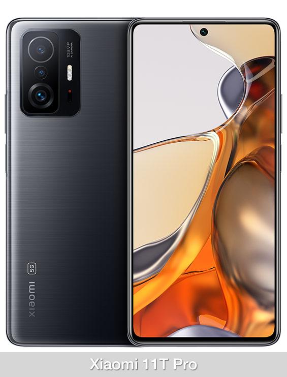 Comparativa Xiaomi 11T Pro o Xiaomi Mi 11