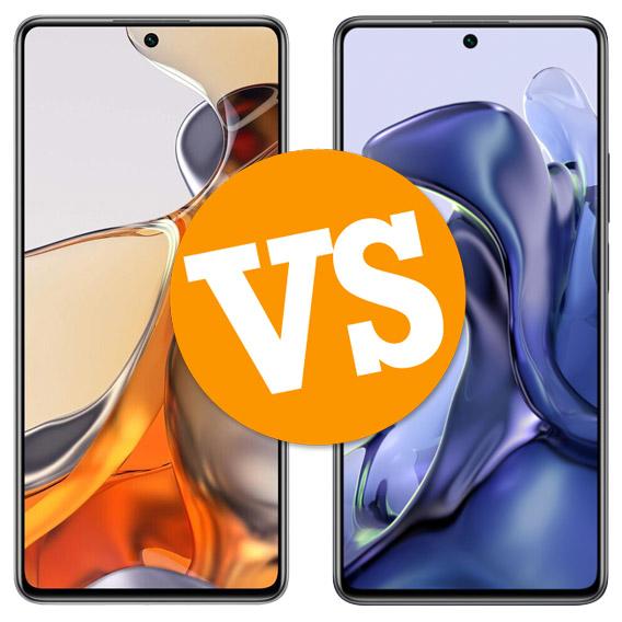 Comparativa Xiaomi 11T Pro vs Xiaomi 11T