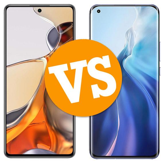 Comparativa Xiaomi 11T Pro vs Xiaomi Mi 11